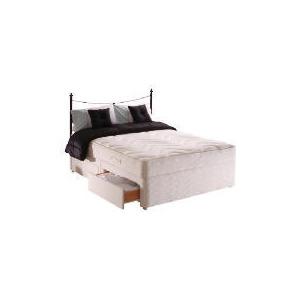 Photo of Sealy Posturepedic Silver Dream Double 4 Drawer Divan Set Bedding