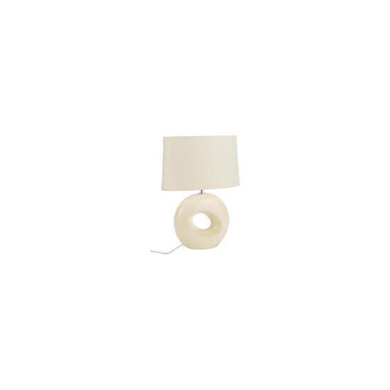 Tesco Calypso Cream Table Lamp