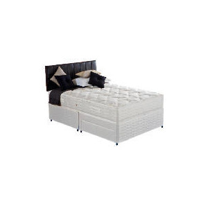 Photo of Silentnight Miracoil 7-Zone Colorado King 2 Drawer Divan Set Bedding