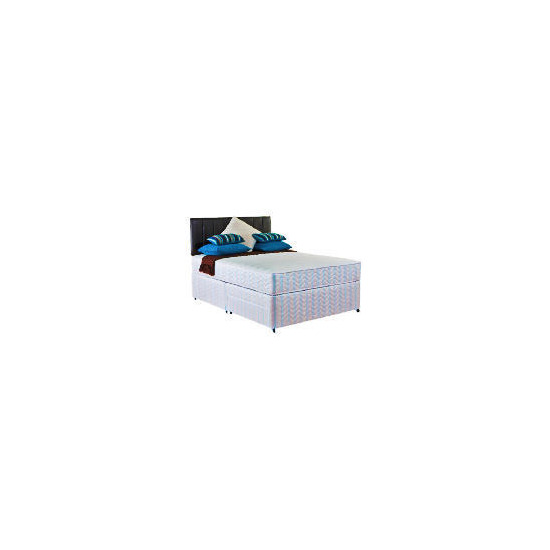 Layezee Value Memory Foam Double 2 Drawer Divan Set