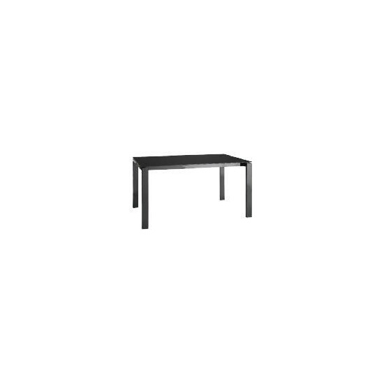 Calida Dining Table, Black Gloss