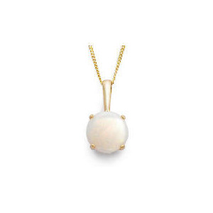 Photo of 9CT Gold Opal Pendant Jewellery Woman