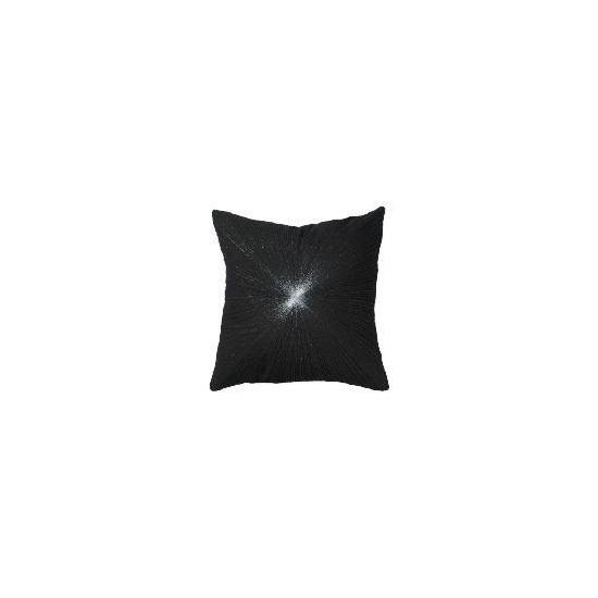 Tesco Lurex Silver Star Cushion