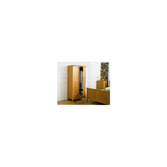 Windsor Double Wardrobe, Oak