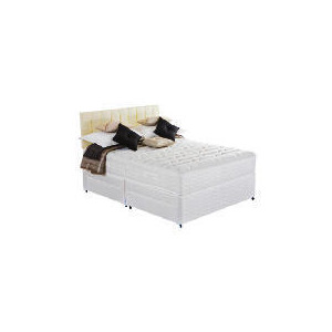 Photo of Silentnight Miracoil 7-Zone Latex Boston Super King 4 Drawer Divan Set Bedding