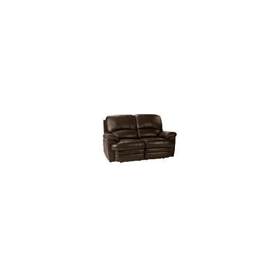 Apollo Leather Recliner Sofa, Brown