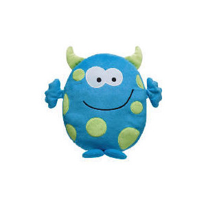 Photo of Tesco Kids Cheeky Monster Cushion Cushions and Throw