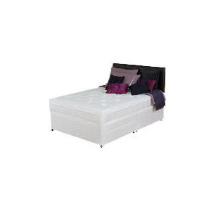 Photo of Silentnight Miracoil 3-Zone Supreme Memphis 4FT 2 Drawer Divan Set Bedding