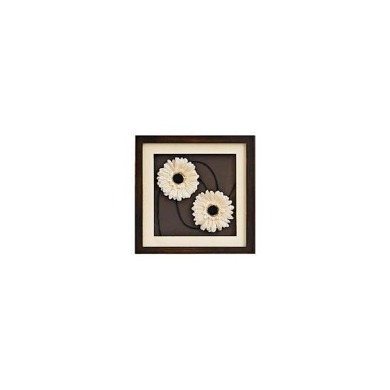 TWT Neutral Floral Square 31x31cm