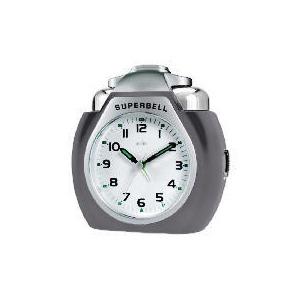 Photo of Acctim Superbell Titanium Colour Alarm Clock Clock