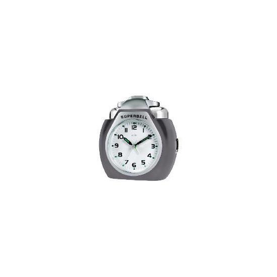 Acctim Superbell Titanium Colour Alarm Clock