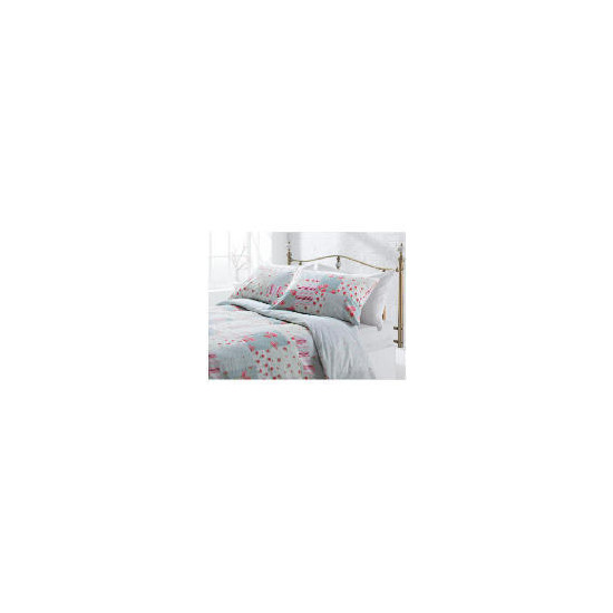 Tesco Amelia Patch Print Duvet Set Single, Pink