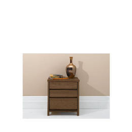 Monzora Bedside Chest, Dark Oak Reviews