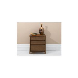 Photo of Monzora Bedside Chest, Dark Oak Furniture
