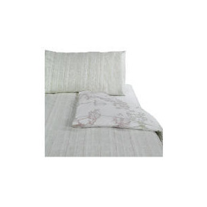 Photo of Tesco Shadow Print Duvet Set Single, Natural Bedding