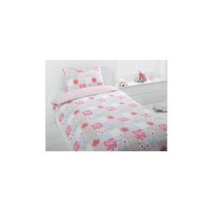 Photo of Tesco Kids Floral Patchwork Single Duvet Bed Linen