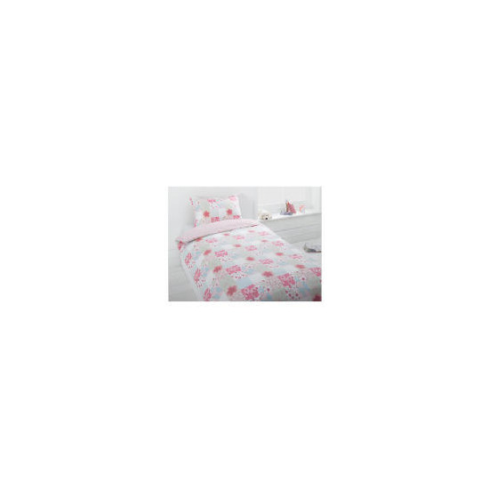 Tesco Kids Floral Patchwork Single Duvet