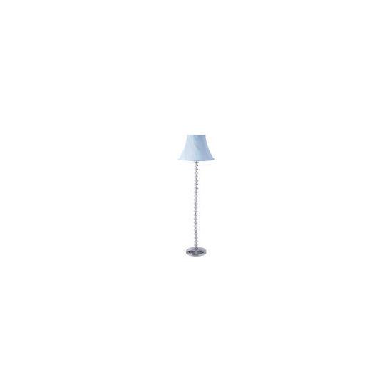 Tesco Twisted Shade Floor Lamp, Blue