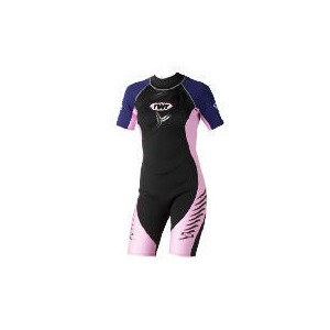 Photo of TWF Wetsuit Shortie Womens 18 Pink Sports and Health Equipment