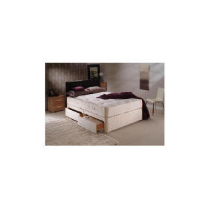 Photo of Sealy Classic Ortho Superior King 4 Drawer Divan Set Bedding