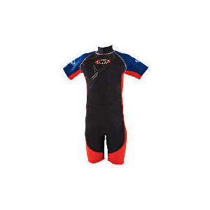 Photo of TWF Wetsuit Shortie Kids 7 Red Sports and Health Equipment