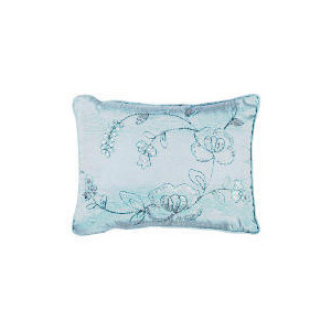 Photo of Tesco Rose Sequin Cushion, Aqua Cushions and Throw