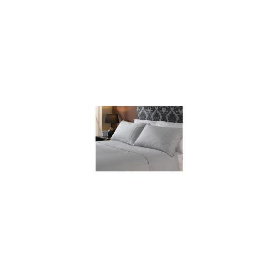 HOTEL 5* Squares Duvet set Superking, Grey
