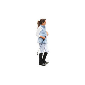 Photo of Tesco Teen Heavy Duty  Light Blue /Floral Seat  Jodhpurs Size 12 Sports and Health Equipment