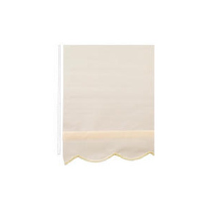 Photo of Scalloped Edge Roller Blind 120X160CM Cream Blind