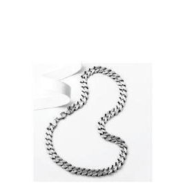"Silver Oxidised Gents Curb Chain, 20"" Reviews"