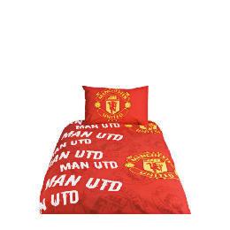 Manchester United Football Club Rotary Duvet Reviews