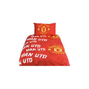 Photo of Manchester United Football Club Rotary Duvet Bed Linen