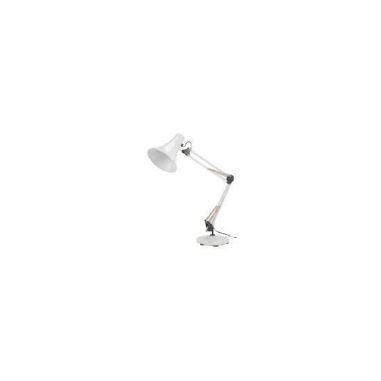 Task White Desk Lamp