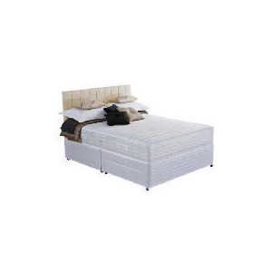 Photo of Silentnight Miracoil 7-Zone Memory Denver Double 2 Drawer Divan Set Bedding