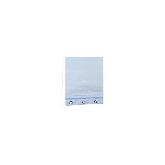 Eyelet Roller Blind 90x160cm - Light Blue