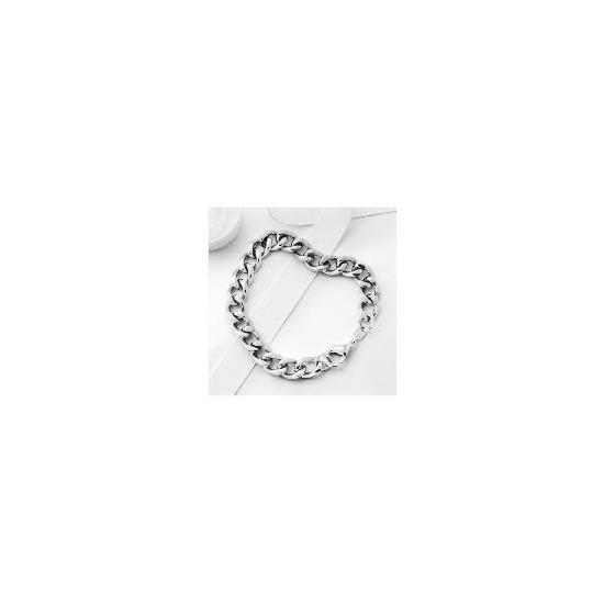 Stainless Steel Heavy Curb Bracelet