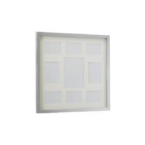 Photo of Tesco Block Frame Silver 9 Aperture Home Miscellaneou