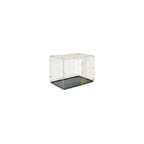 Zinc plated car crate extra large