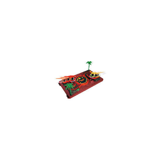 Spinning Top Dino King Playset + 2 Spin Tops