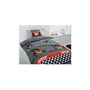 Photo of Tesco Kids Racing Car Single Duvet Bed Linen