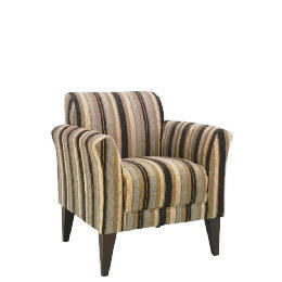 Metro Occasional Stripe Chair, Charcoal Reviews