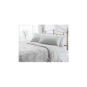 Photo of Tesco Shadow Print Duvet Set Kingsize, Natural Bed Linen