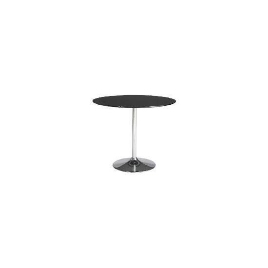 Barello Dining Table, Black Gloss