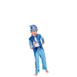 Lazy Town Sportacus Dress Up Age 3/4 Reviews