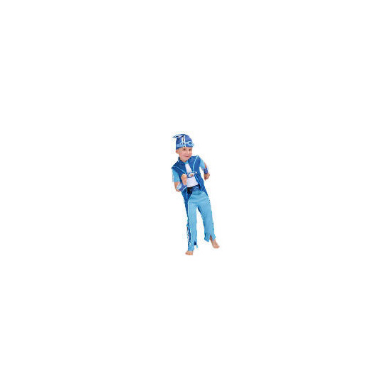 Lazy Town Sportacus Dress Up Age 3/4