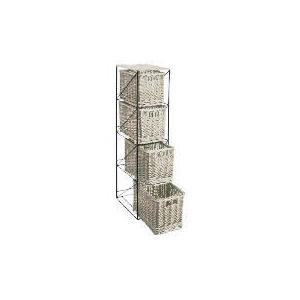 Photo of Tesco Willow 4 Draw Tower White Household Storage