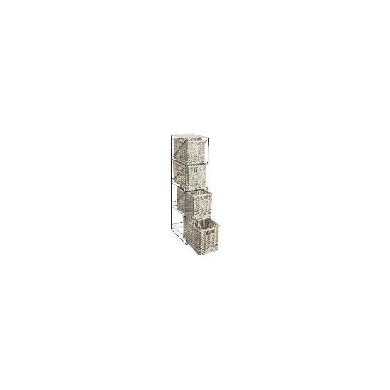 Tesco Willow 4 draw tower white