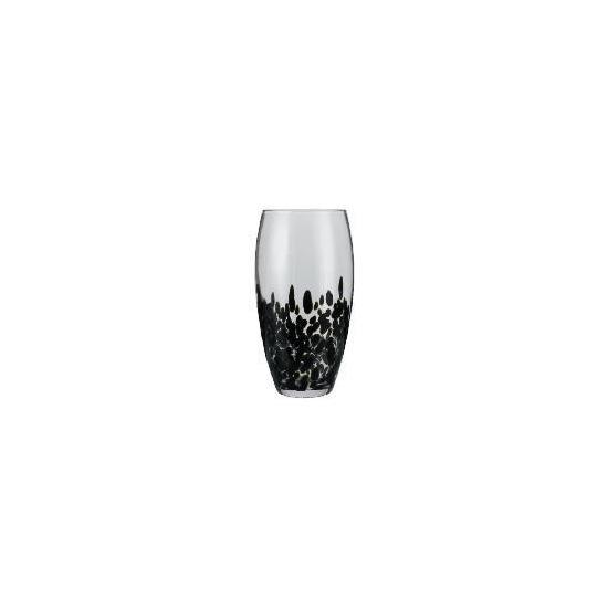 Tesco Spots Vase Black