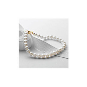 Photo of 9CT Gold Freshwater Pearl Bracelet Jewellery Woman