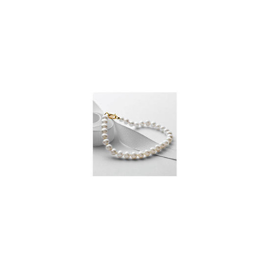 9ct Gold Freshwater Pearl Bracelet